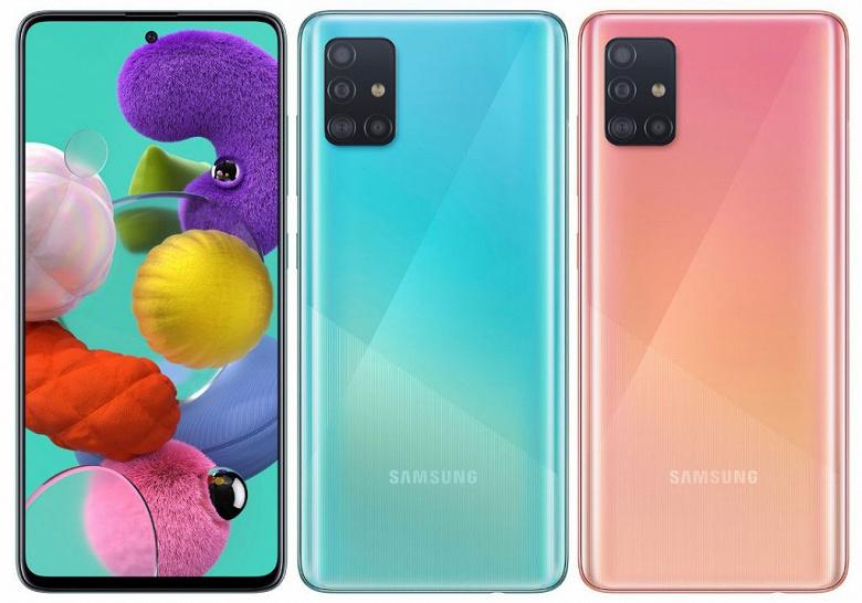 Представлен Samsung Galaxy A51 — новый хит корейского гиганта