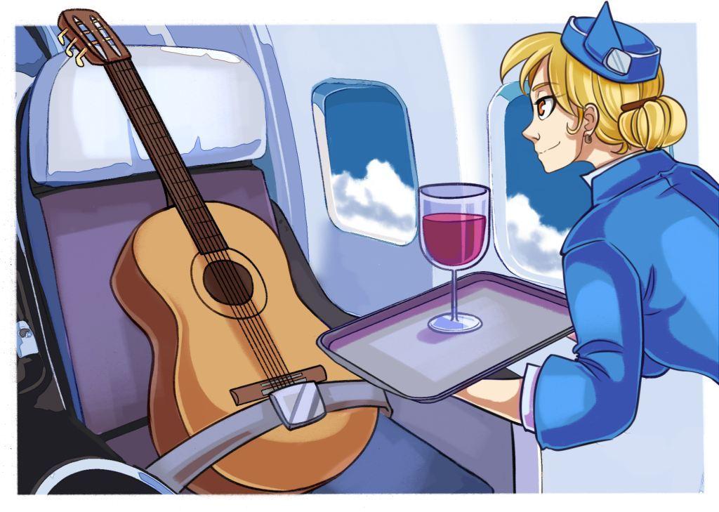 Профессиональные путешествия: как живут стюардессы - 1