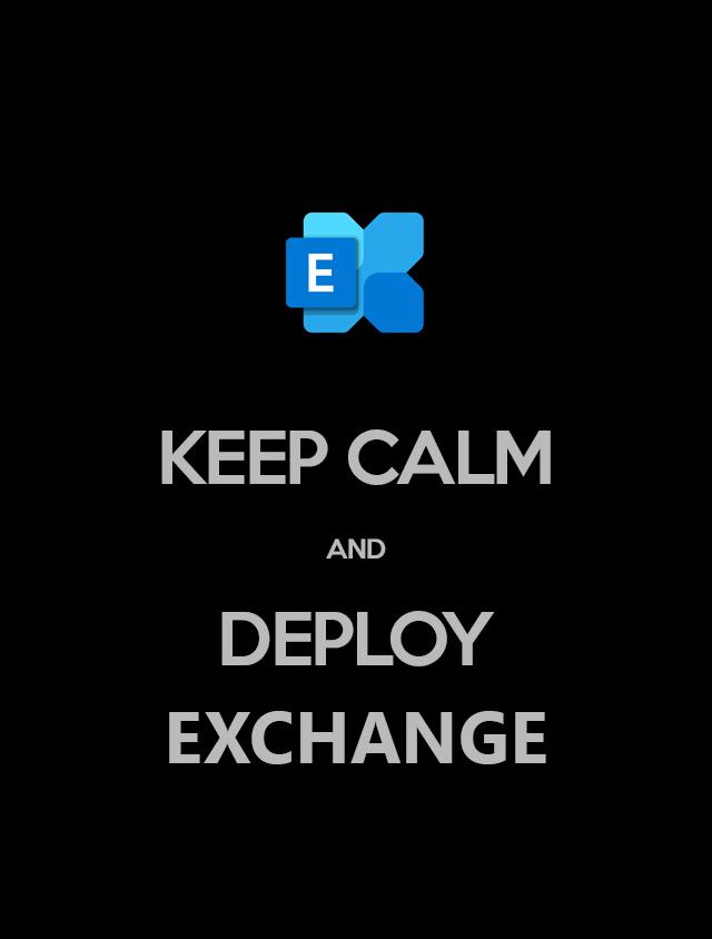 Устанавливаем Exchange 2019 на Windows Server Core 2019 - 1