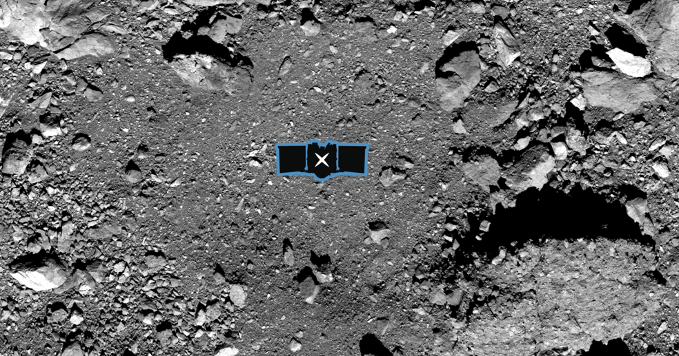 NASA выбрало место для забора грунта на астероиде Бенну