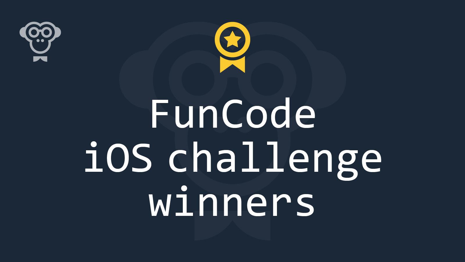 Итоги FunCode iOS challenge: называем имена победителей - 1