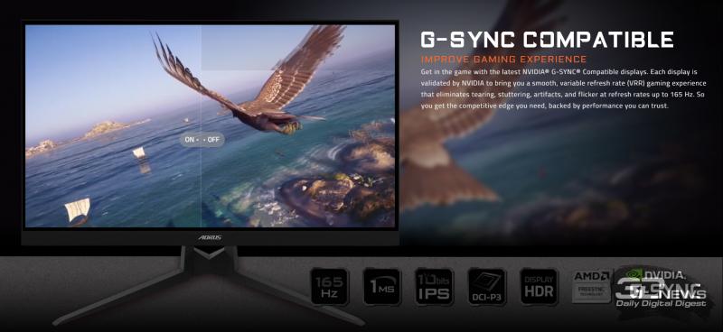 Новая статья: Обзор игрового WQHD-монитора Gigabyte AORUS FI27Q-P: второй заход