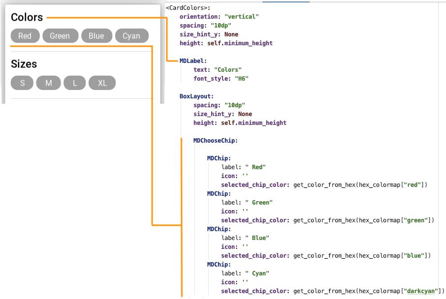 Разработка мобильных приложений на Python. Библиотека KivyMD - 24