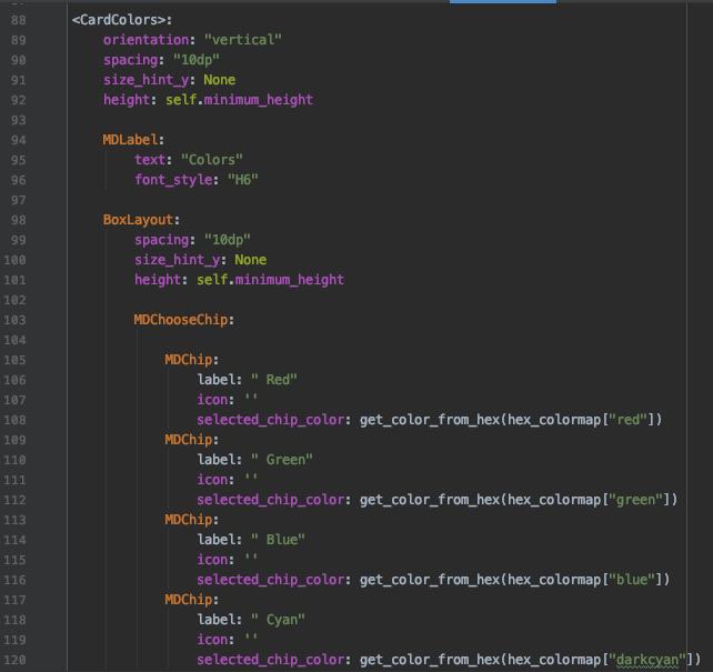 Разработка мобильных приложений на Python. Библиотека KivyMD - 27