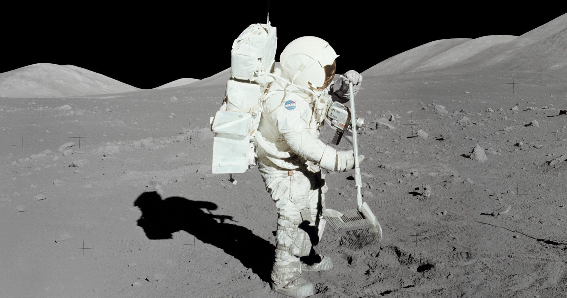 Apollo-17: что делали астронавты на Луне