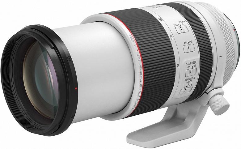 Canon признает, что у объектива RF 70-200mm F2.8L IS USM есть проблема с фокусировкой - 1