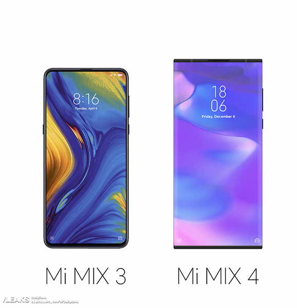 Xiaomi Mi Mix 4 очень похож на Mi Mix Alpha с одним «но»