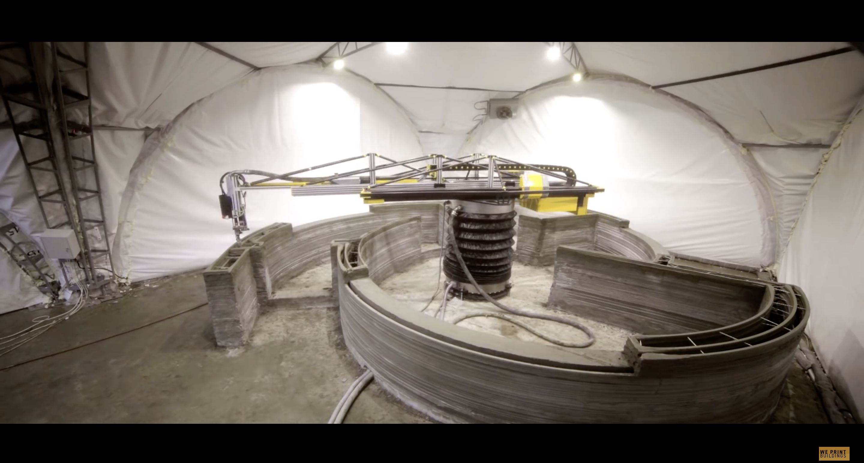 Пионеры и первопроходцы. Циркулярный строительный 3D-принтер – как все начиналось? - 2