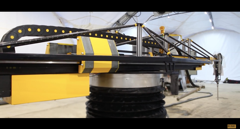 Пионеры и первопроходцы. Циркулярный строительный 3D-принтер – как все начиналось? - 1