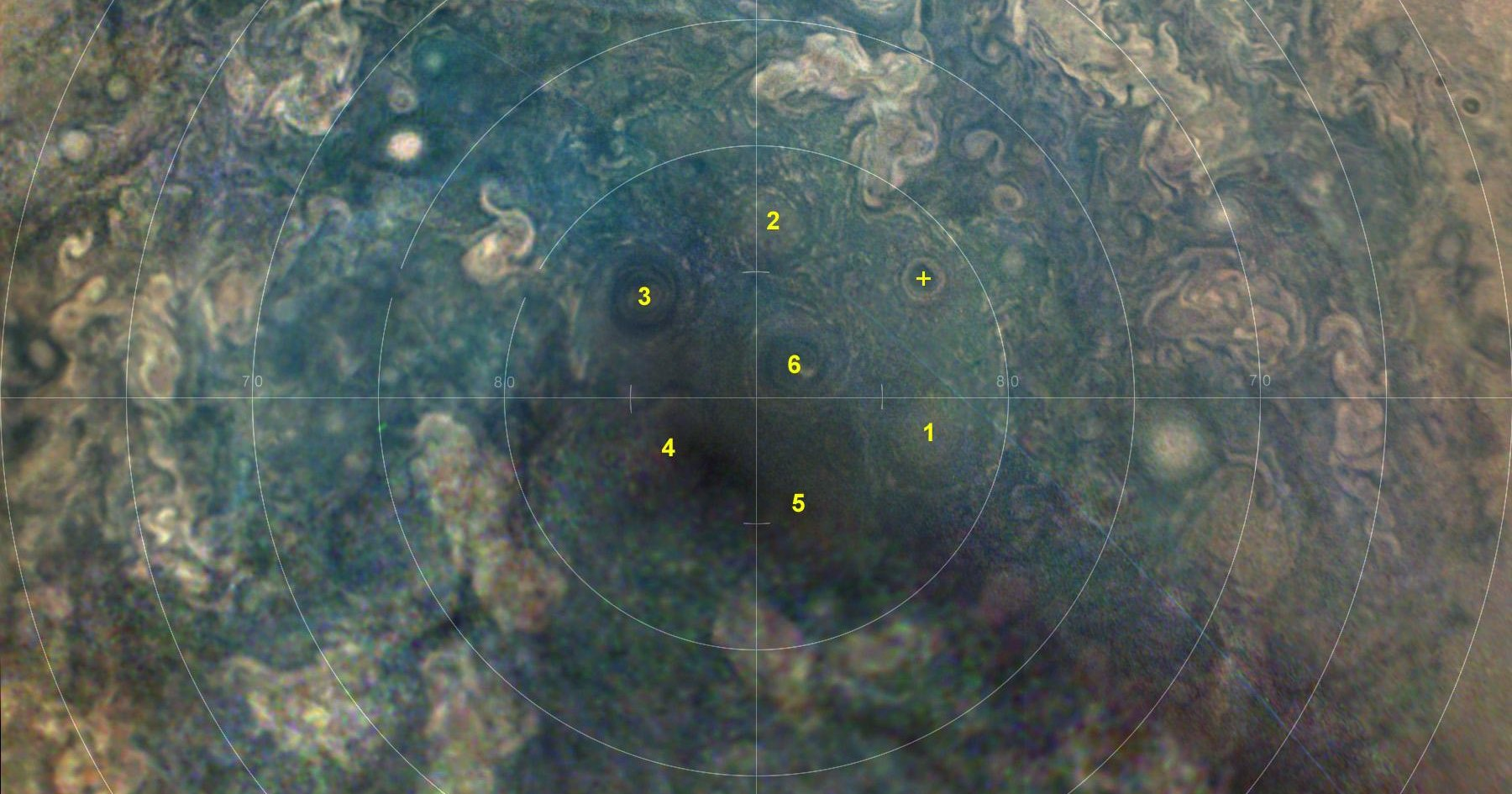 Зонд NASA обнаружил новый циклон на Юпитере