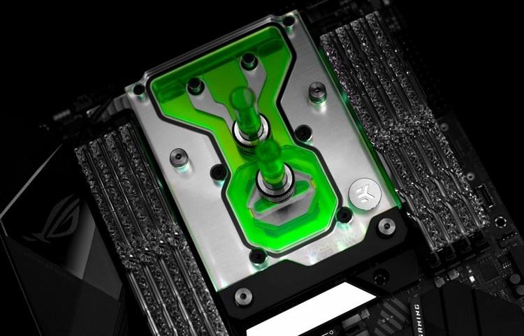 EKWB предлагает раскрыть потенциал ROG Strix X299-E Gaming II с помощью нового «моноблока»