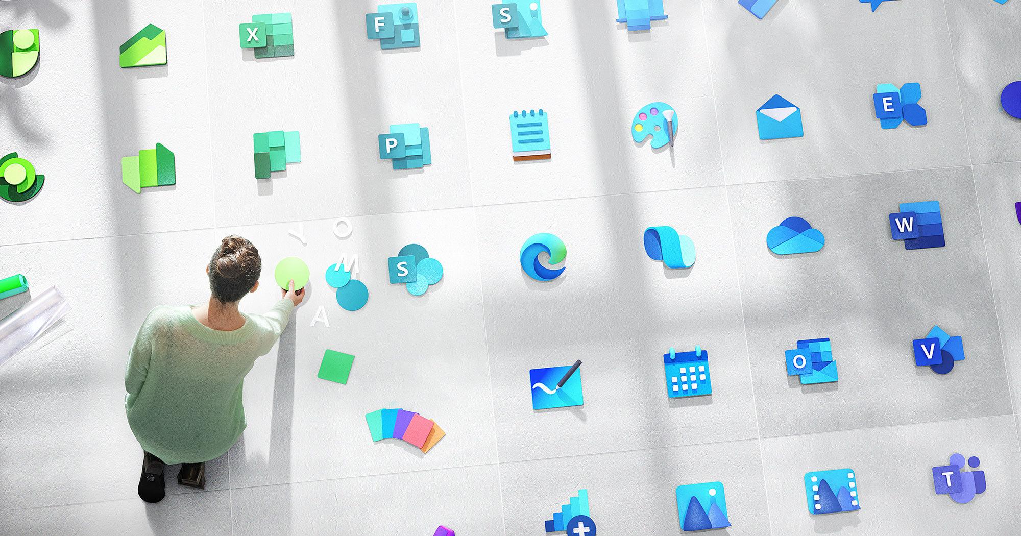 Microsoft изменит дизайн логотипа Windows и ста приложений