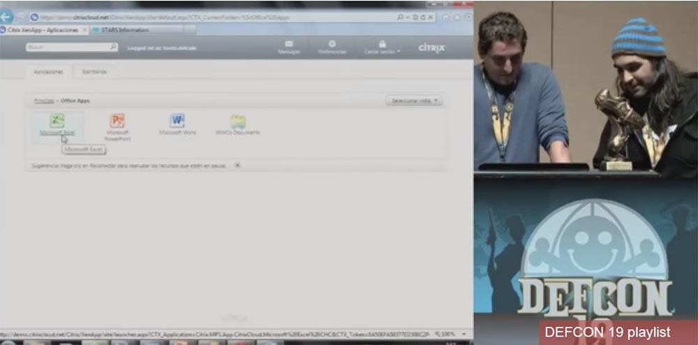 Конференция DEFCON 19. Начальство любит Excel, хакеры тоже - 15