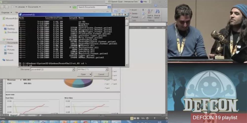 Конференция DEFCON 19. Начальство любит Excel, хакеры тоже - 17