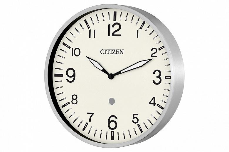 Настенные часы Citizen Smart Clock работают с голосовым помощником Amazon Alexa