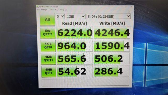 Новый твердотельный накопитель Lexar с поддержкой NVMe демонстрирует скорость более 7 ГБ/с