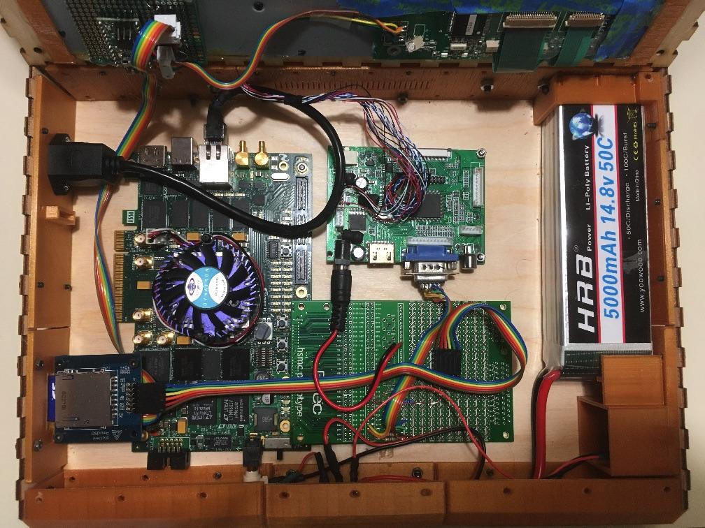 Самодельный ноутбук ZedRipper на шестнадцати Z80 - 11