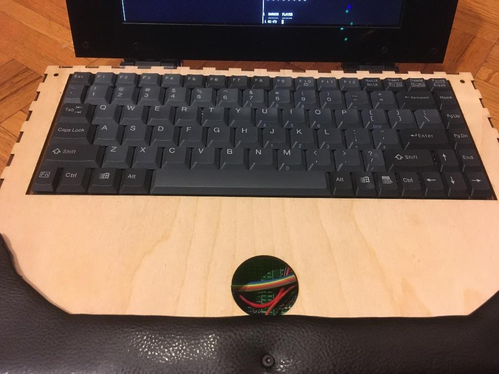Самодельный ноутбук ZedRipper на шестнадцати Z80 - 12
