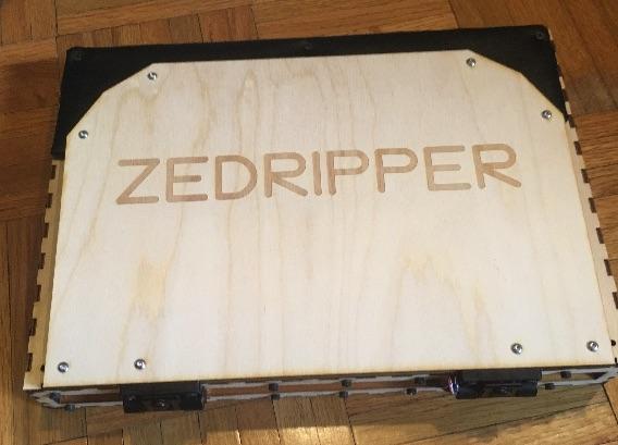 Самодельный ноутбук ZedRipper на шестнадцати Z80 - 2