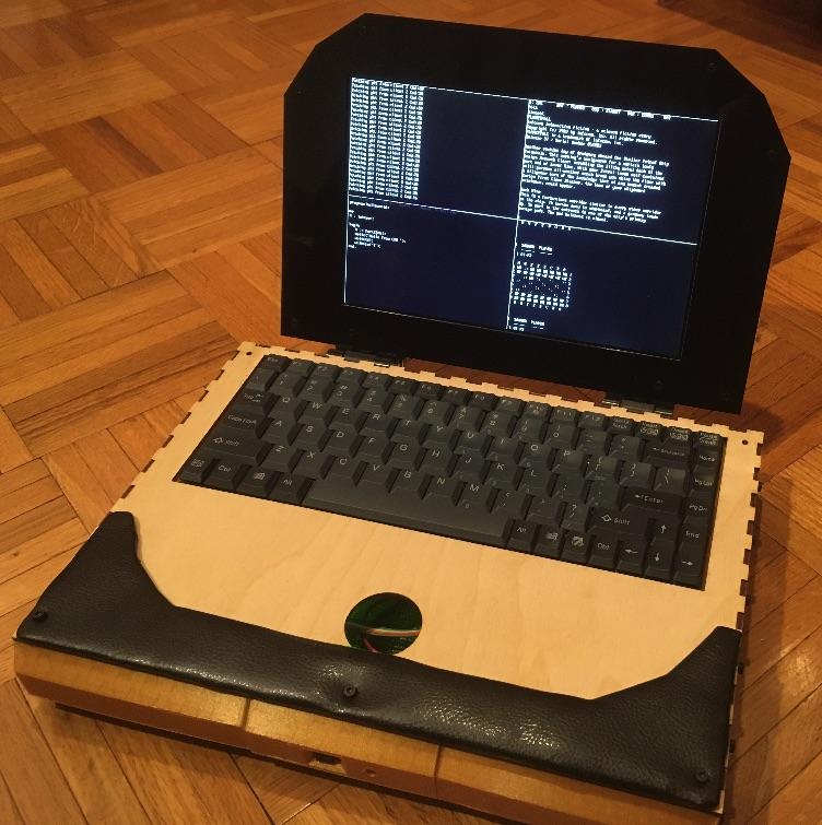 Самодельный ноутбук ZedRipper на шестнадцати Z80 - 3