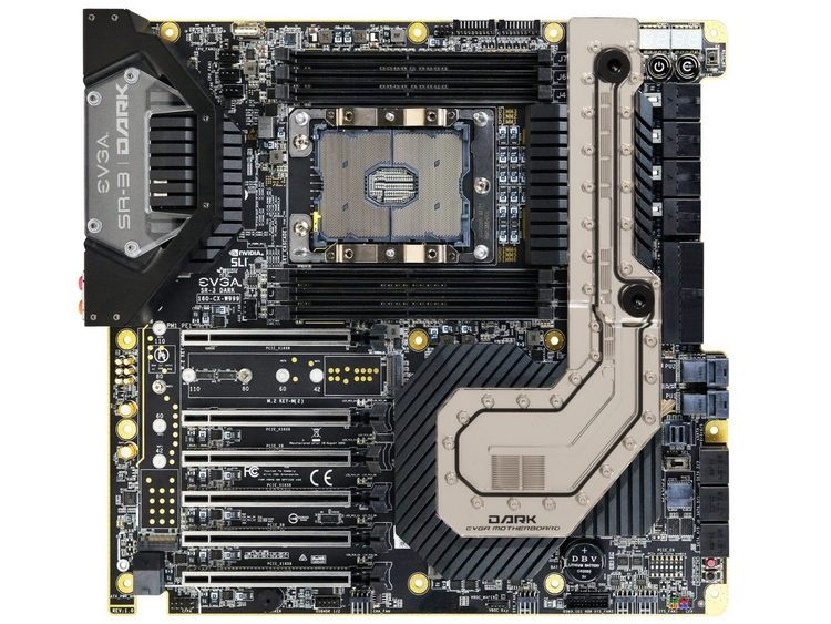 EVGA SR-3 DARK: самая доступная материнская плата для 28-ядерного Xeon W-3175X