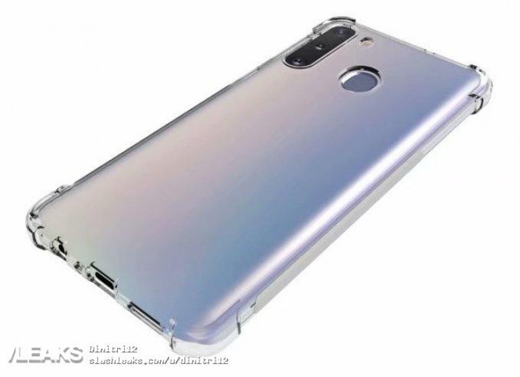 Samsung Galaxy A21 впервые позирует со всех сторон
