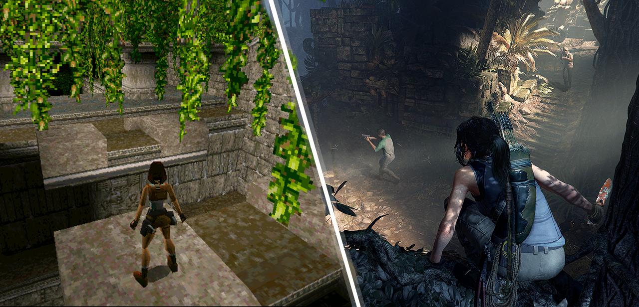 До и после: визуальная эволюция известных видеоигр - 25