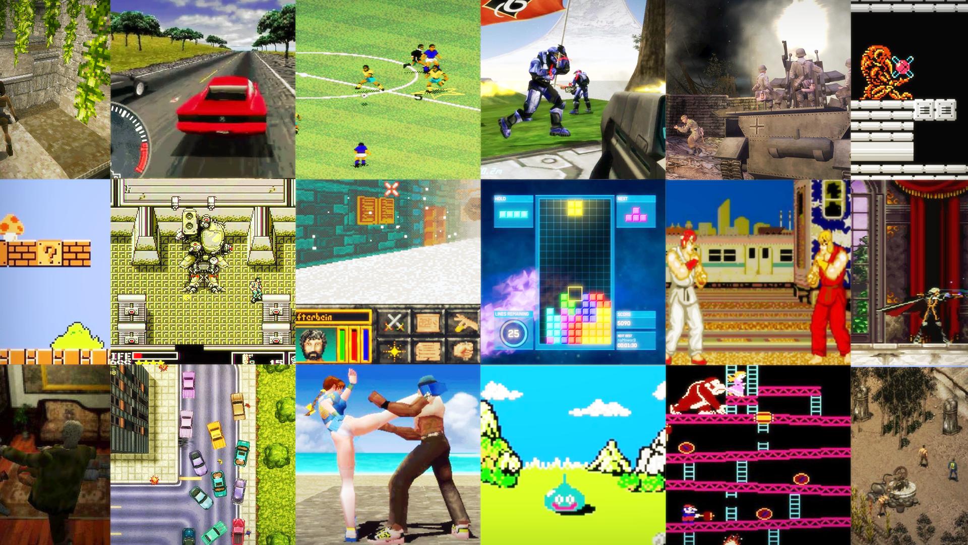 До и после: визуальная эволюция известных видеоигр - 1