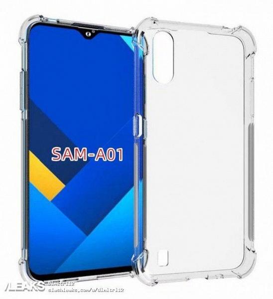 Недорогая новинка Samsung Galaxy A01 во всех деталях