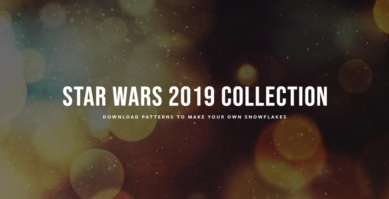 Снежинки в стилистике StarWars своими руками (upd. 2019) - 1