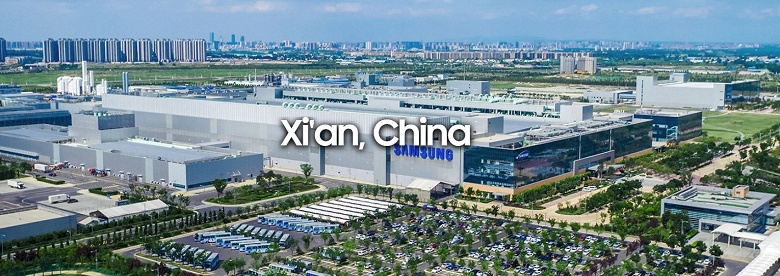 Вторая очередь китайского завода Samsung по производству микросхем памяти начнет серийный выпуск продукции в следующем году