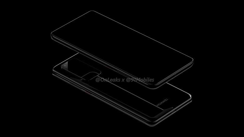 Авторитетный инсайдер показал Huawei P40 и Huawei P40 Pro с «необычайным» дизайном