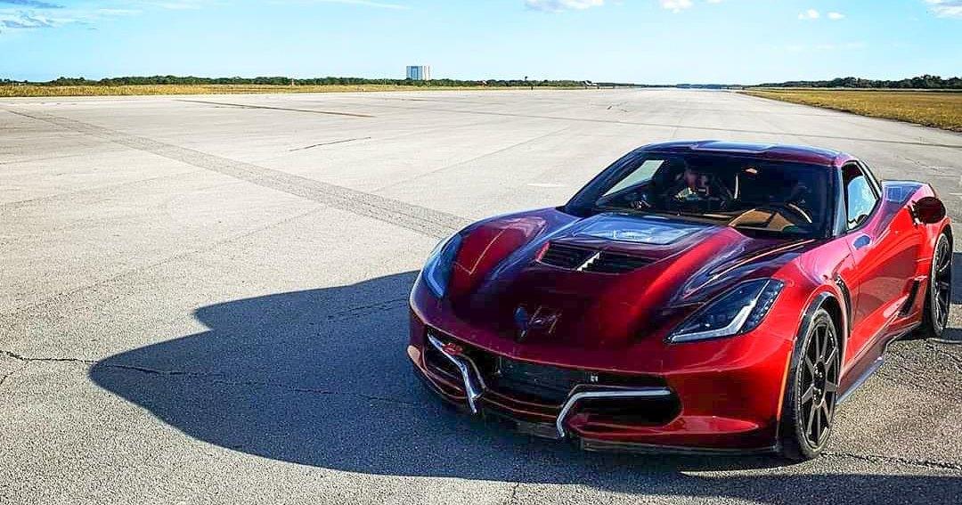 Электрический Corvette обновил собственный мировой рекорд скорости