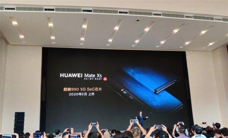 Гибкий Huawei Mate Xs получит новый шарнир, улучшенный экран и выйдет в Европе