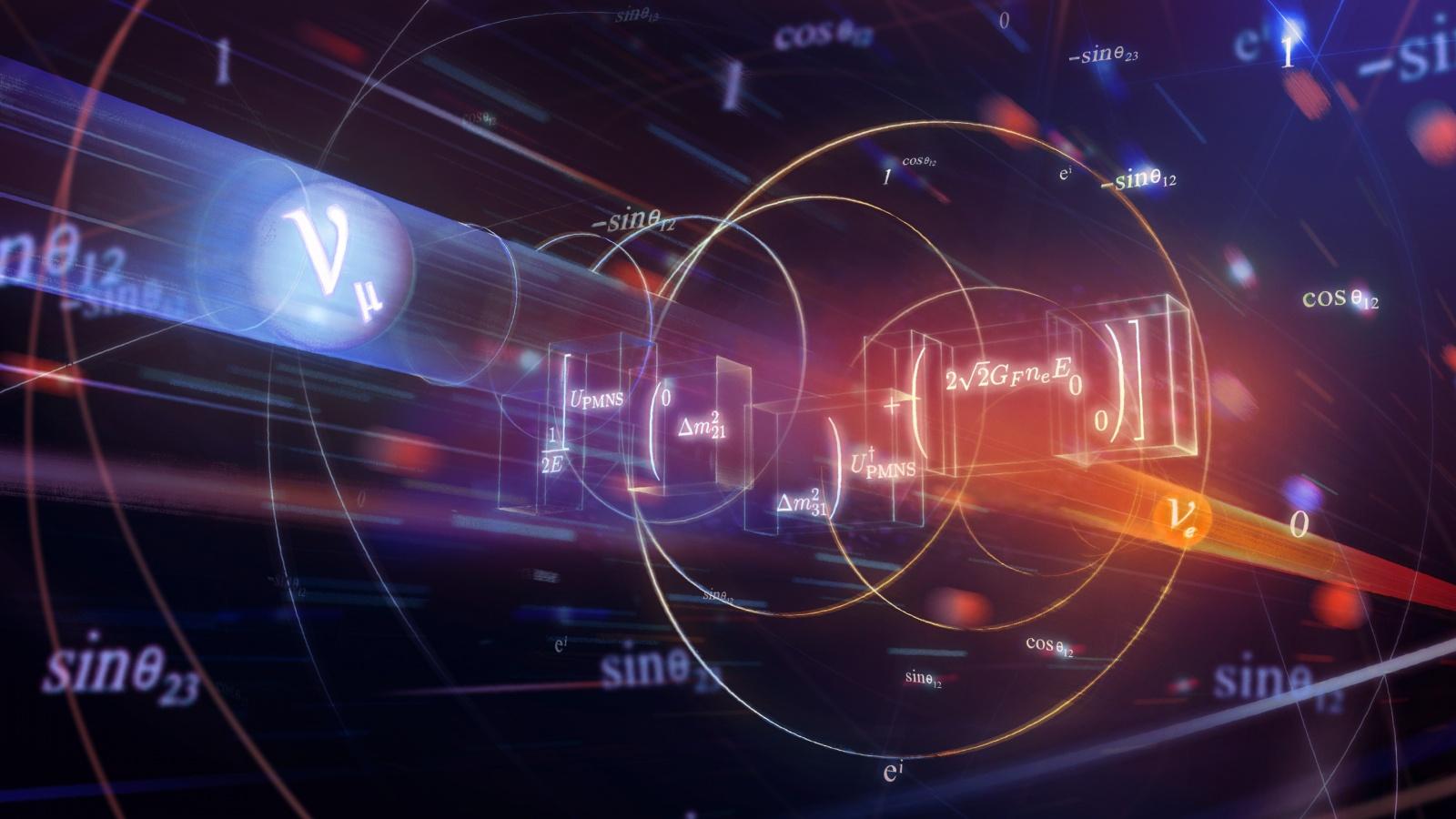 Изучение нейтрино привело к неожиданному открытию в математике - 1