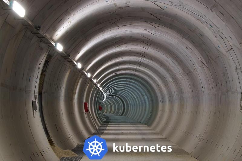 Как с tcpserver и netcat открыть туннель в Kubernetes pod или контейнер - 1