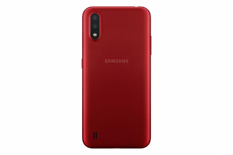 Смартфон Samsung Galaxy A01 перестал быть странным. Никаких 8 ГБ ОЗУ у него нет
