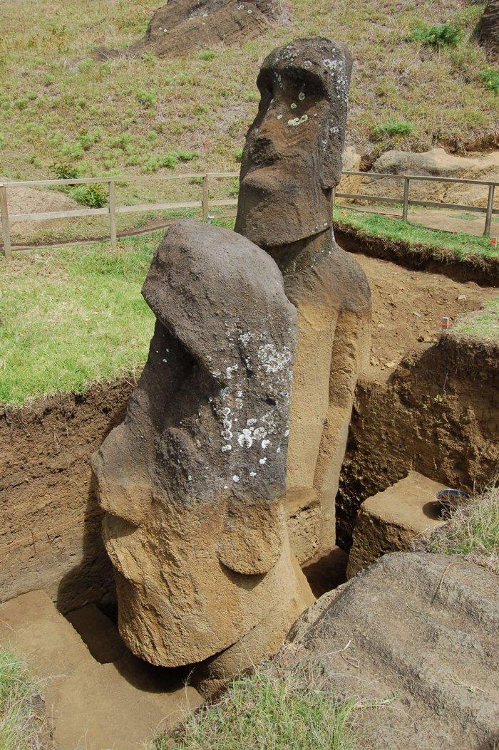Ученые разгадали тайну истуканов на острове Пасхи: каменные стражи