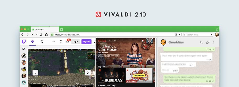 Vivaldi 2.10 — Агент под прикрытием - 1