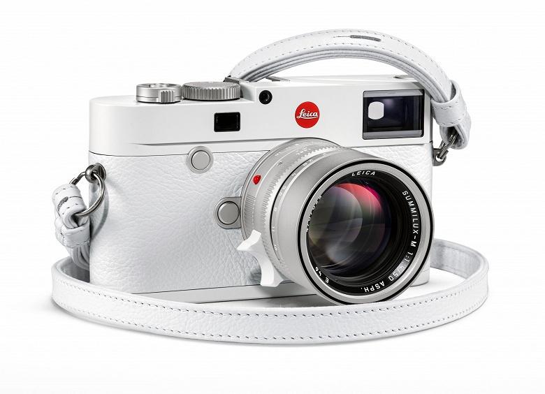 Камер Leica M10–P White будет выпущено всего 350 штук