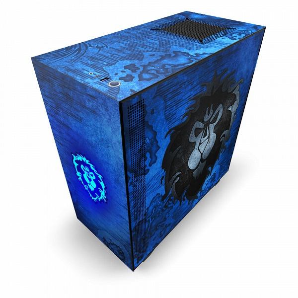 Корпуса NZXT H510 Alliance и H510 Horde адресованы поклонникам игры World of Warcraft