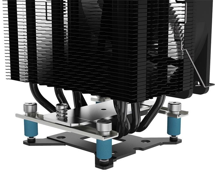 Кулер ID-Cooling SE-234-ARGB справляется с охлаждением чипов с TDP до 200 Вт
