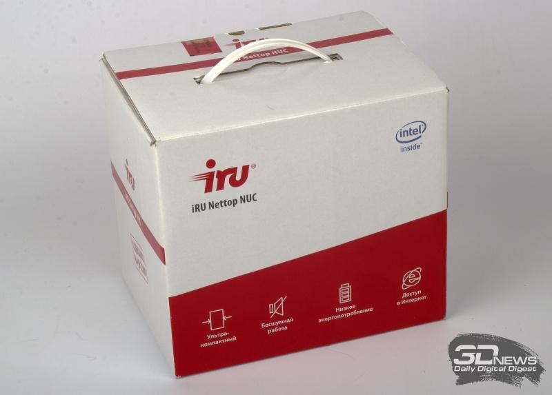 Новая статья: Обзор неттопа iRU NUC 115: компактный, универсальный, мощный