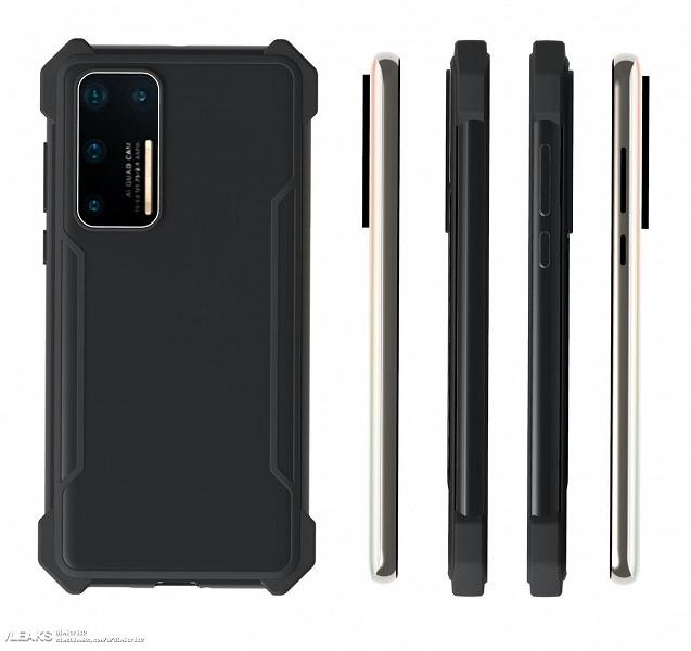 Новые изображения подтвердили особенности дизайна Huawei P40