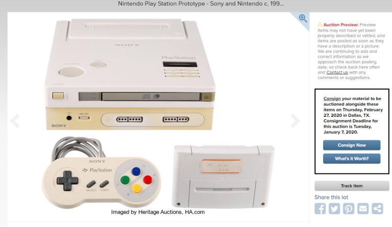 Прототип Nintendo PlayStation, обнаруженный в 2015 году, продадут на аукционе - 1