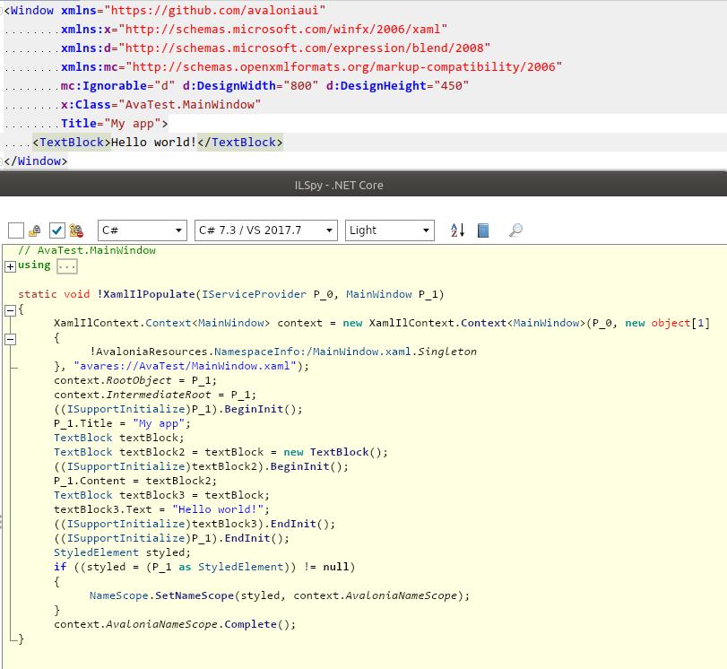Релиз кросс-платформенного .NET UI-тулкита AvaloniaUI 0.9 - 1