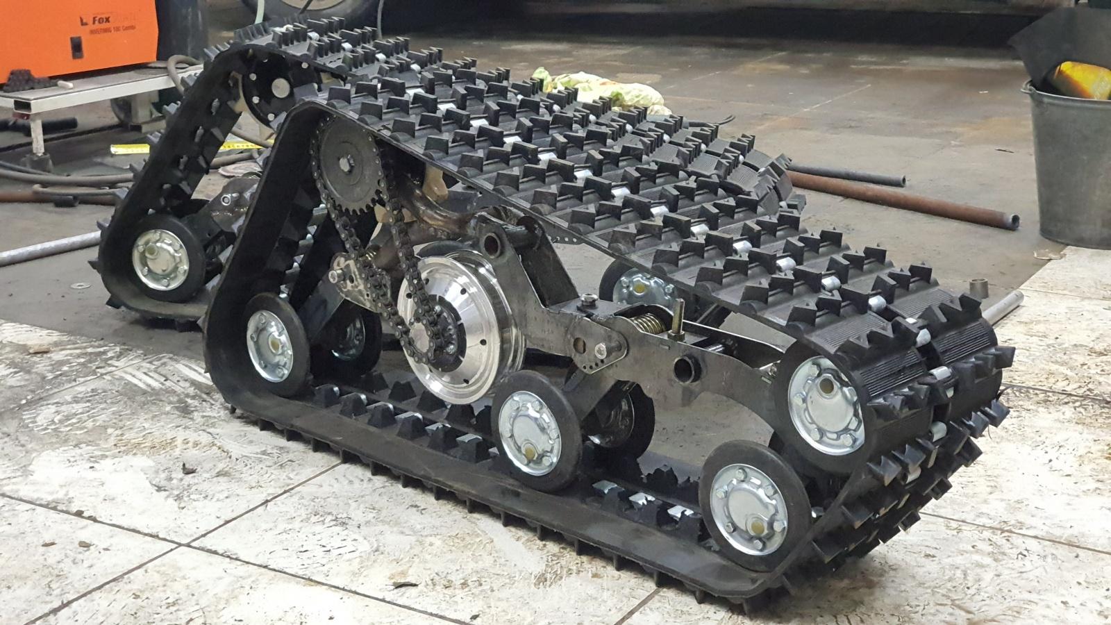 DIY Гусеничная платформа для роботов и развлечений - 2