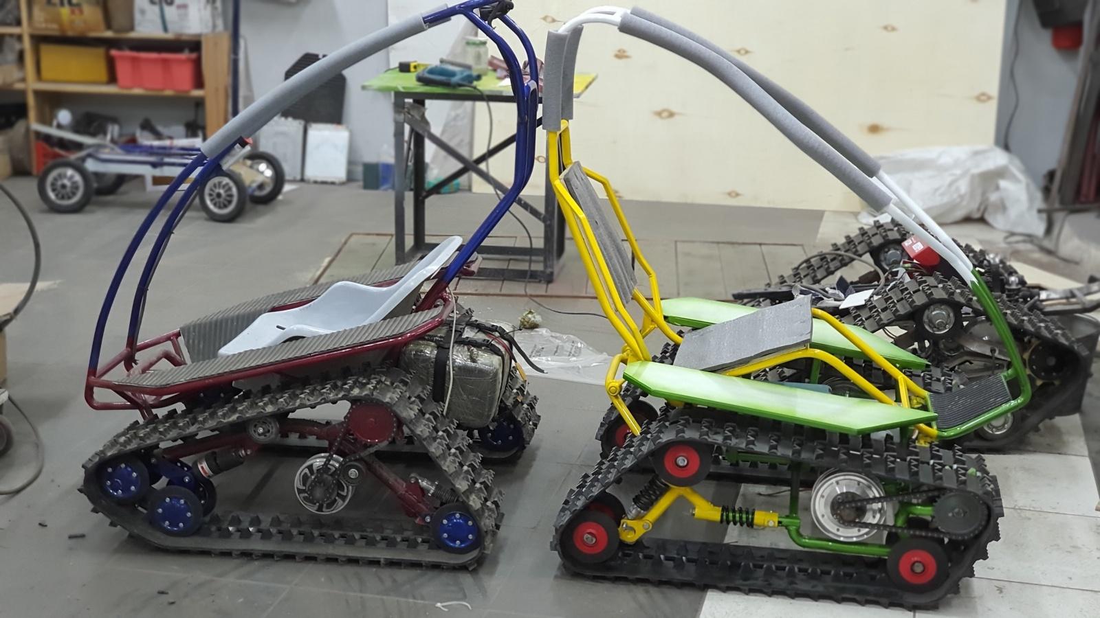 DIY Гусеничная платформа для роботов и развлечений - 3