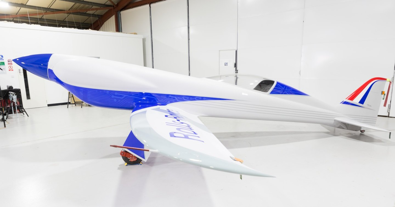 Rolls-Royce представил электрический самолет для рекорда скорости