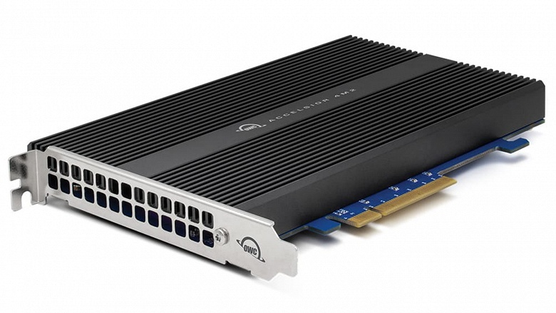 Космически быстрый SSD для нового Mac Pro. Причём дешевле, чем оригинальные накопители Apple